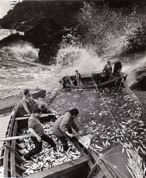 Ловля рыбы на Байкале.