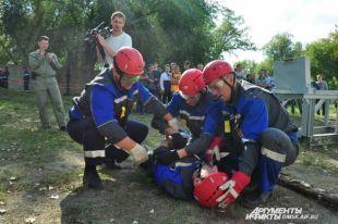 Сотрудники МЧС готовы оказать помощь в любой ситуации.