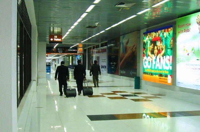 Вурне аэропорта столицы Бангладеш найдены три килограмма золота