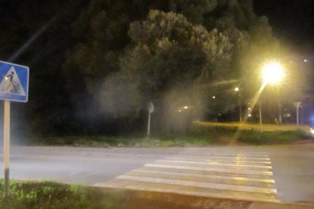 Под Тюменью автопоезд сбил 3-х пешеходов— катастрофа натрассе