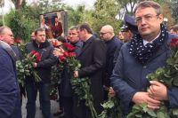 В Днепре попрощались с погибшими полицейскими