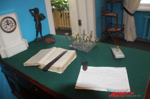 Рабочий стол Сергея Аксакова.