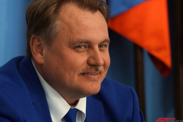 Юрий Уткин назначен врио руководителя Перми
