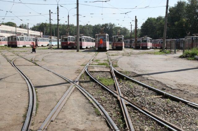 ВОмске временно перекроют движение трамваев маршрутов №4 и №8