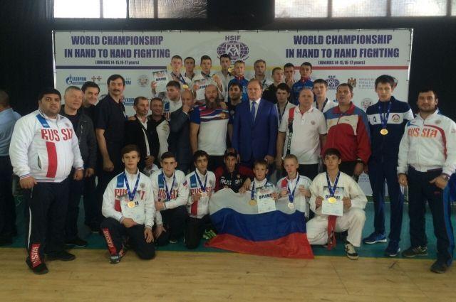 Трое туляков стали чемпионами мира порукопашному бою среди юношей