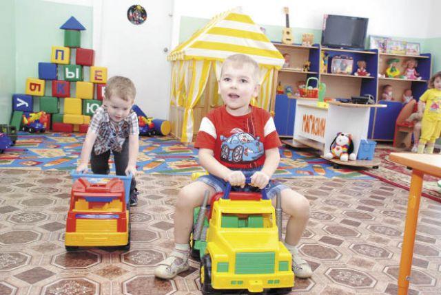 Бюджетные детские сады не могут «развернуться» вволю.