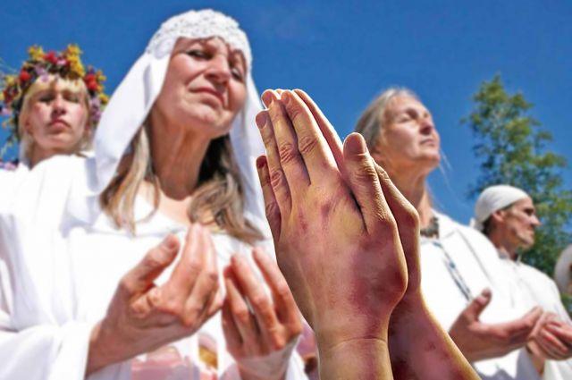 НаПравды впроцессе религиозной церемонии произошел сильный пожар