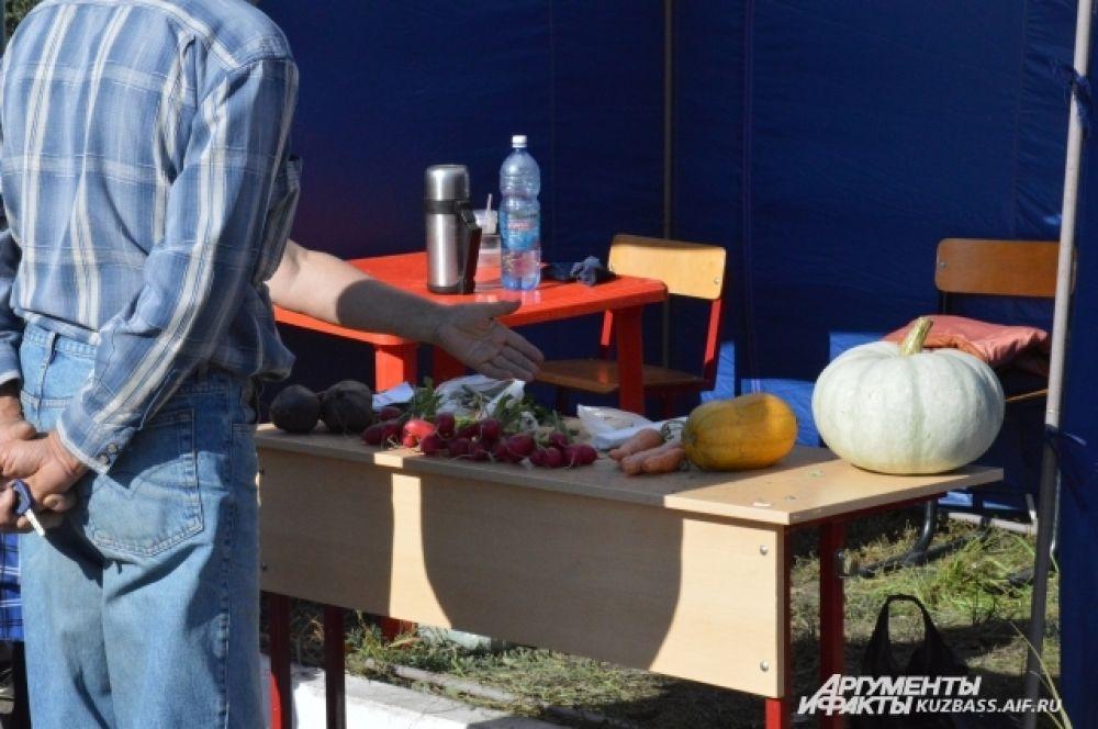 Год выдался урожайным, поэтому выбор у посетителей ярмарки-выставки был большой.