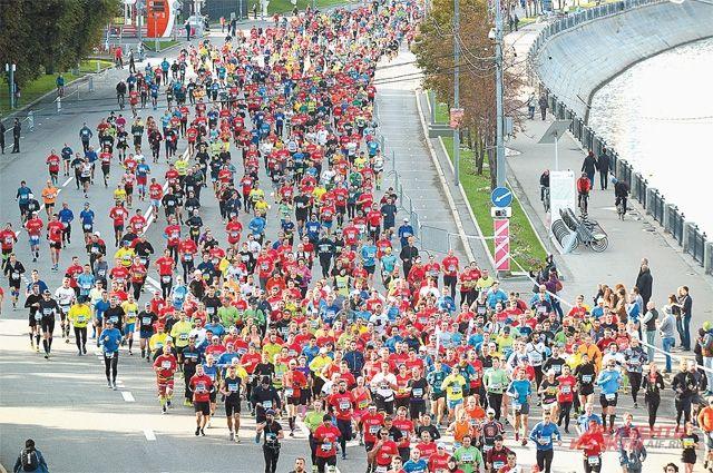 Генеральный руководитель компании Тримет принял участие вМосковском марафоне