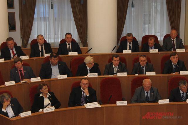 Председателем оренбургского Заксобрания вновь стал Сергей Грачев