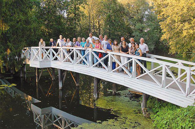 Золотую осень можно встретить на старинной набережной в Городце или в пушкинском Болдине.