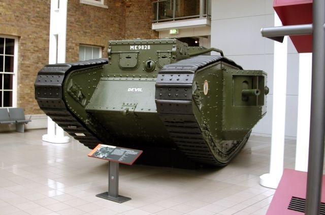 Mk V в Имперском военном музее в Лондоне