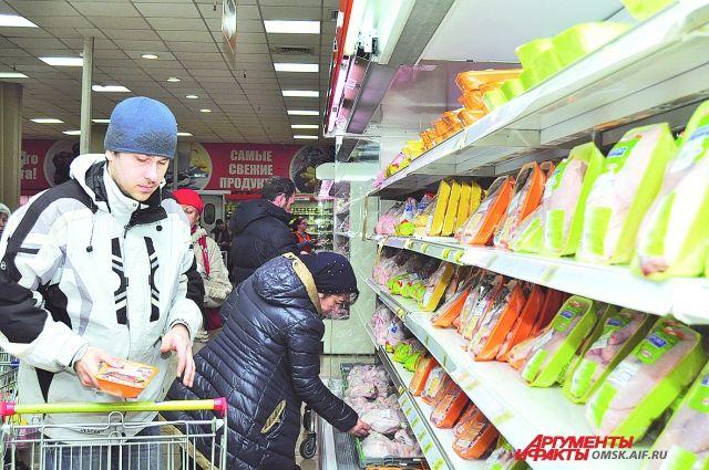 Граждане Красноярского края стали экономить напокупках