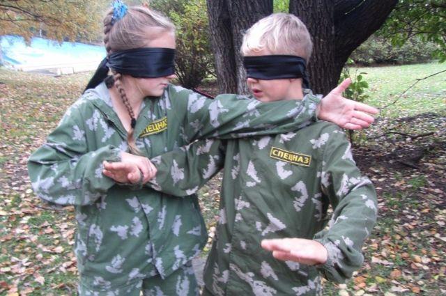 Детский спецназ может дать фору и взрослым спортсменам.