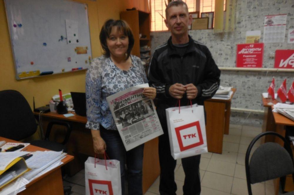 Друзья нашей редакции передадут подарки участникам фотоконкурса из районов.