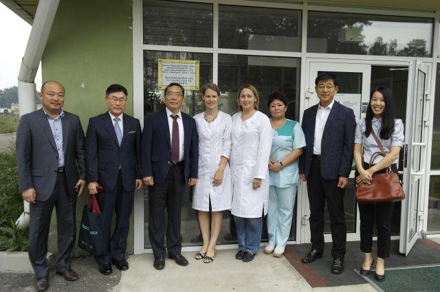 Клиника активно сотрудничает с зарубежными колегами.