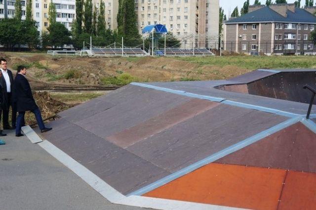 Скейт-парк вАзове Ростовской области перенесут вдругое место