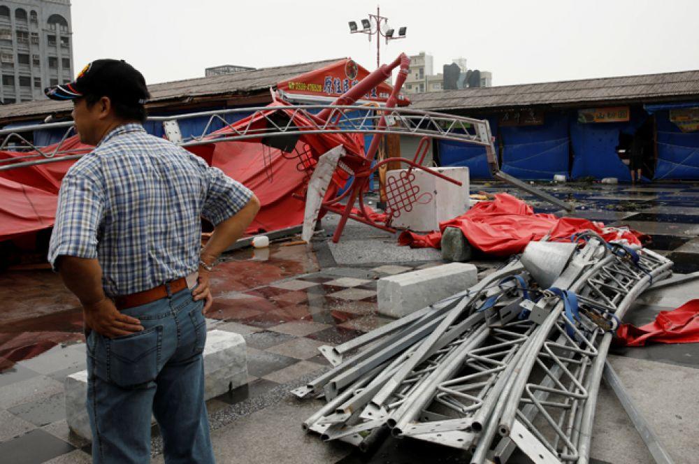 Всего под ударом стихии оказались 5 китайских провинций.