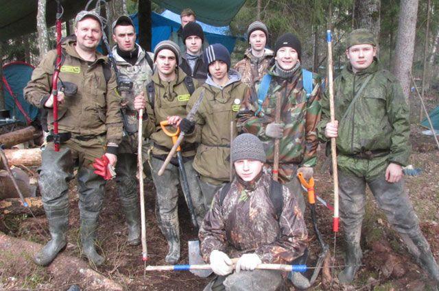Этим летом отряд «Высота-76» работал в Тверской области и в Карелии.