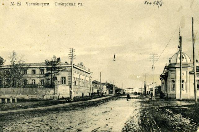 Здание справа — это дом Соломона Данцигера, построенный в 1910 году