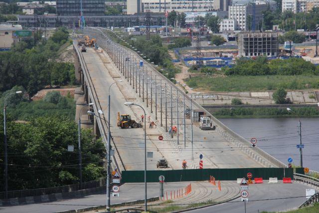 Молитовский мост навсе 100% откроют ссамого начала ноября