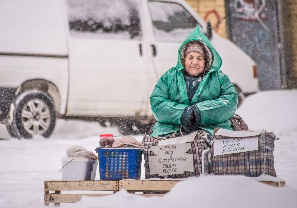 Работа «Редька, клюква» лауреата фотоконкурса Николая Смолянкина.