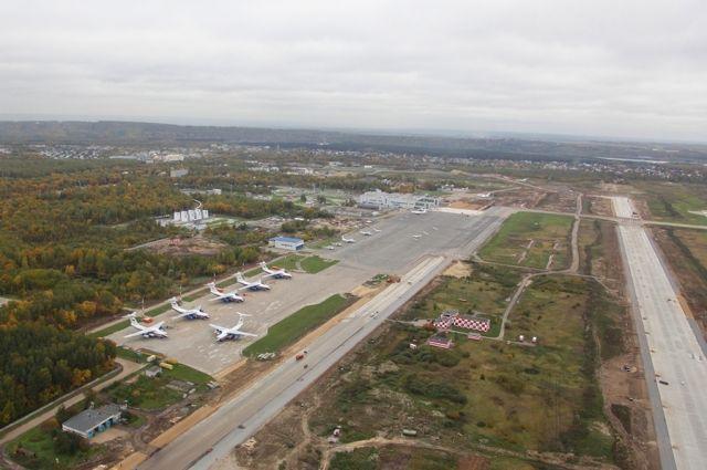 Реконструкция перрона ваэропорту «Стригино» закончится кноябрю