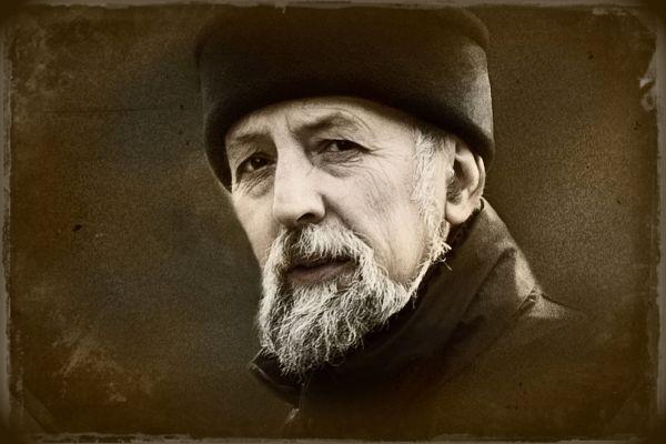 Работа  «Скульптор Петр Фишман» лауреата конкурса Алексея Лебедева.