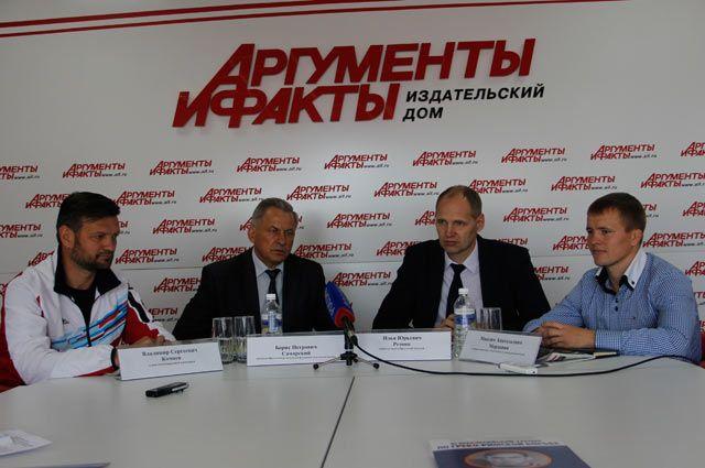 Владимир Кочнев, Борис Самарский, Илья Резник и Максим Мордовин