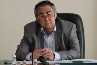 Губернатор области Аман Тулеев