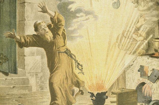 Бертольд Шварц — изобретатель пороха.
