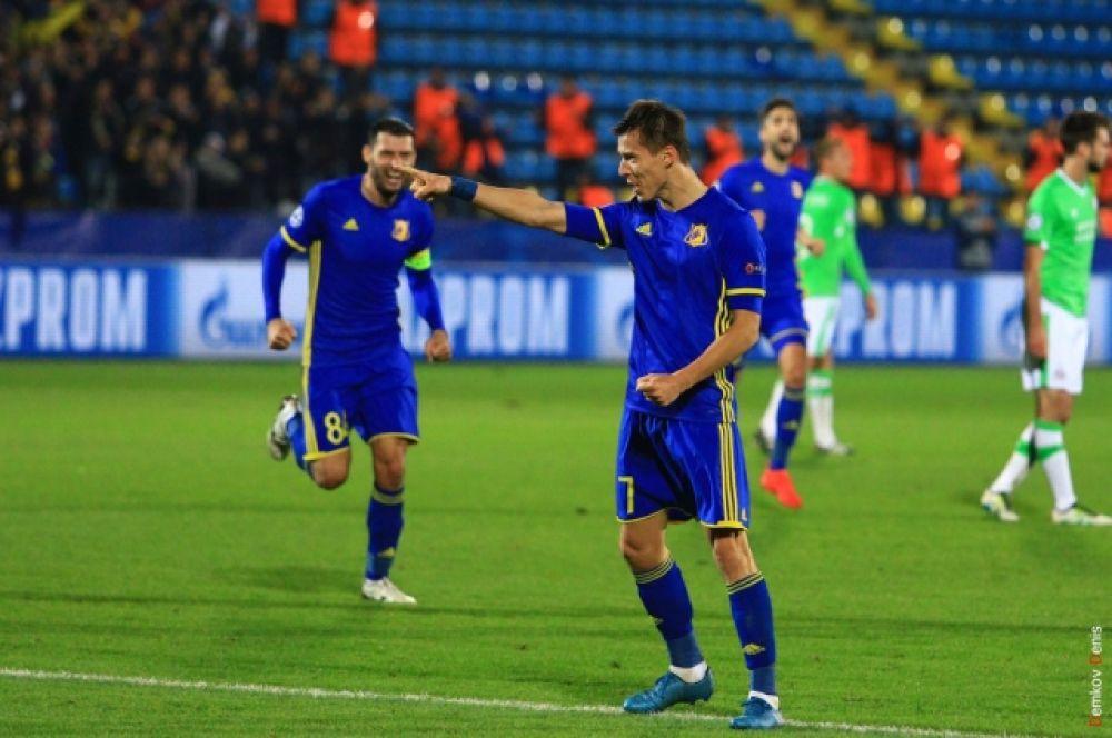 В составе «Ростова» два мяча забил Дмитрий Полоз, не получивший на этот раз вызов в сборную страны.