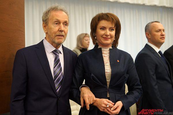 Валерий Трапезников и Дарья Эйсфельд.