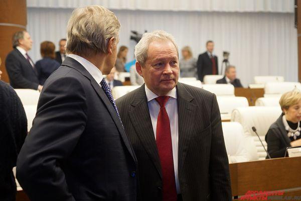 На мероприятии присутствовал губернатор Пермского края Виктор Басаргин.