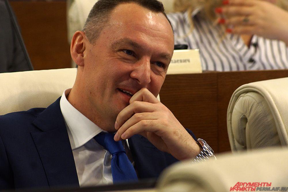 От Пермского края в Государственную Думу попал Алексей Бурнашов.