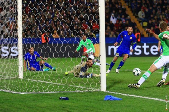 «Ростов» иПСВ разошлись миром вматче Лиги чемпионов
