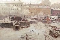 Н. Дубовской - «Первый снег»