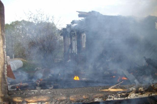 ВСмоленске при пожаре умер мужчина