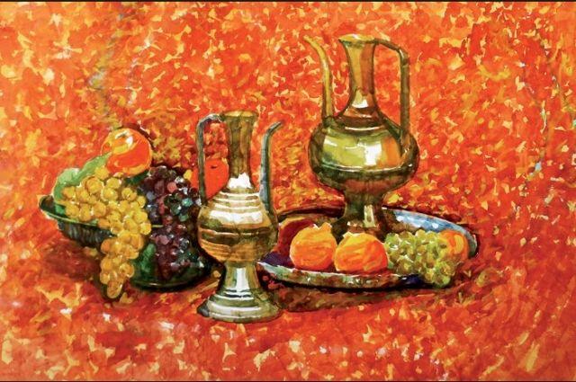 Натюрморты Мирона Наноева. Выставка автора закрывается в воскресенье, 2 октября.