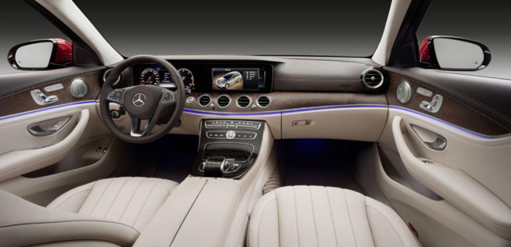 Интереьер Mercedes All-Terrain