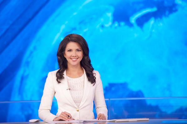 Телеведущая Инга Юмашева.