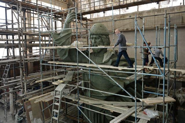 В российской столице готовятся кустановке монумента Крестителю Руси
