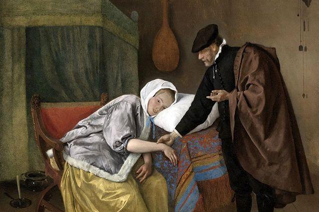 Ян Хавикс Стен. «Больная женщина».