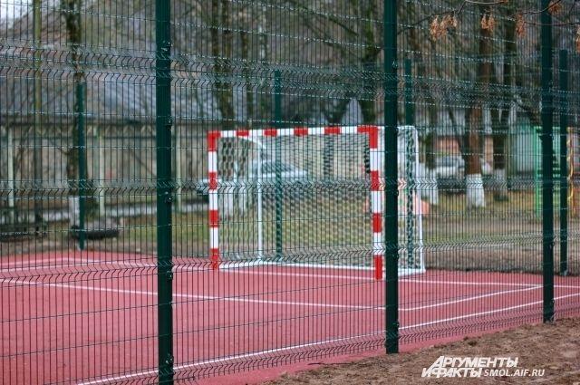 Спортплощадка будет открыта для всех жителей района.
