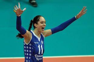 Екатерина Гамова отдала волейболу 20 лет.