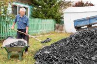 Иван Матвеев и еще два десятка пожилых людей получили уголь в подарок