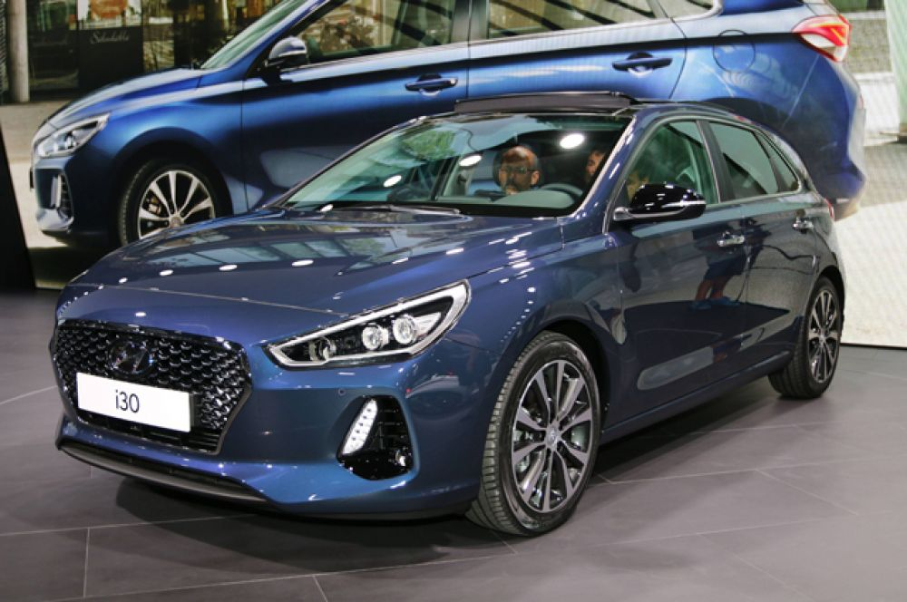 Hyundai показал хэтчбек i30.