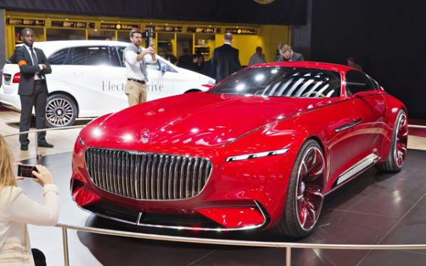 Самым роскошным купе этого автошоу признан концептуальный Mercedes-Maybach длиной почти 6 м. Под капотом установлен 738-сильный бензиновый агрегат.
