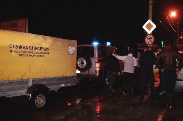 Минувшей ночью за16 мин. вАнапе выпала месячная норма осадков