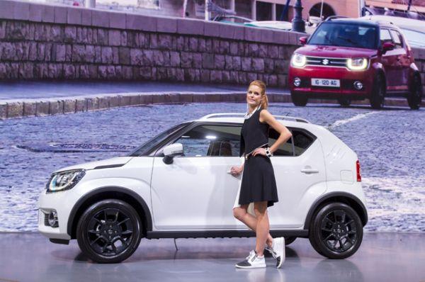 Suzuki показал в Париже самый маленький свой кроссовер Ignis. Старт продаж  запланирован на январь 2017 года.